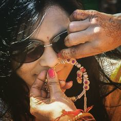 From my not so typical Garhwali wedding diary, a typical nose ring #nath