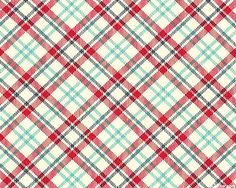 Feed Company - Tartan Spring - Cherry Red