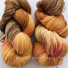 Simply Socks Yarn Company - SK Nimble Blushing Brown, $26.00 (http://www.simplysockyarn.com/sk-nimble-blushing-brown/)