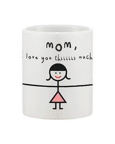 """How much do you love your mom? How many times you say """"I love you"""" to her? Order today and express your feeling like a kid this time. She'll be the happiest mot"""
