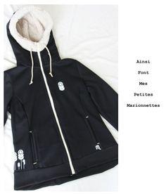 veste noir moumoute 1