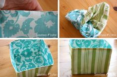 Fabric-Basket..... Super easy. Defiantly needs the stabilizer. Quilted around the sides and bottom to help stiffen. Measurements given result in a box that is a little smaller than what I would like. Seems like it would be easy enough to size up or down to what you would like.