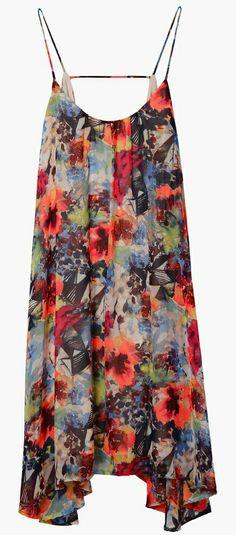 Lightweight, Comfy Pattered Boho Dress - a summer festival staple! #fashion #dress #boho #hippie #floral #women