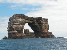 Darwin's Arch ~ Galapagos #monogramsvacation