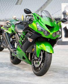 green Ninja Kawasaki