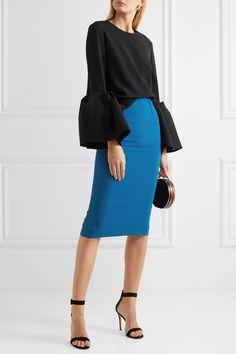 Roland Mouret | Arreton stretch-crepe pencil skirt | NET-A-PORTER.