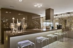 Modern luxury kitchen design ideas awesome modern luxury kitchen design ideas page of Kitchen Interior, Home Decor Kitchen, Kitchen Decor, Luxury Kitchen, House Interior, Home Kitchens, Kitchen Dinning, Home Interior Design, Kitchen Design