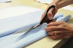 FASE 2 -  taglio della stoffa necessaria