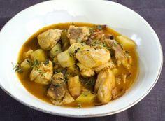 Kyllinggryte med potet og bacon | Fru Timian