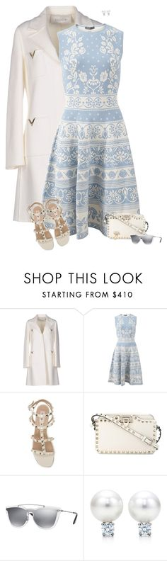 """Spring 2017"" by sherry7411 on Polyvore featuring Valentino, Alexander McQueen, Ross-Simons and springdress"