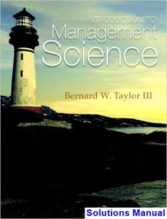 30 best solutions manual download images on pinterest introduction to management science 11th edition taylor solutions manual test bank solutions manual fandeluxe Choice Image
