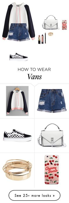 """""""Untitled #543"""" by vaicekauskaite on Polyvore featuring Rebecca Minkoff, Vans, ETUÍ, Bobbi Brown Cosmetics and Valentino"""