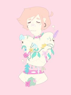 Flowers grow on my bones! ☆