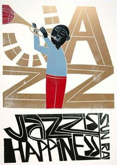 1 October 2016 - 12 February Dedicated to all Defenders of Human Freedoms. The Art of Paul Peter Piech @ People's History Museum. Jazz is Happiness by Paul Peter Piech Jazz Poster, Music Illustration, Jazz Artists, Vintage Poster, Smooth Jazz, Festival Posters, Art Graphique, Graphic Art, Graphic Design