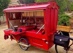 The Flying Tortoise: A Very Cute Very Tiny Gypsy Wagon You Can Tow With Your Bicycle...