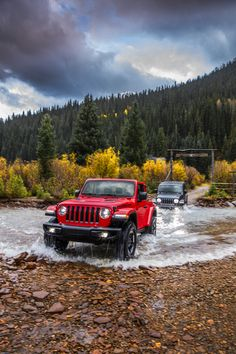 The brand new 2018 Jeep® Wrangler Rubicon and the brand new 2018 Jeep® Wrangler Sahara - Vehicles - Cars 2019 Old Jeep Wrangler, Jeep Wrangler Sahara, Jeep Wrangler Rubicon, Jeep Wrangler Unlimited, Jeep Wranglers, Red Jeep, Jeep Jl, Jeep Cars, Black Jeep