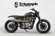 "Triumph ""Dirty Deeds"" Scrambler by JvB-moto - Image 2"