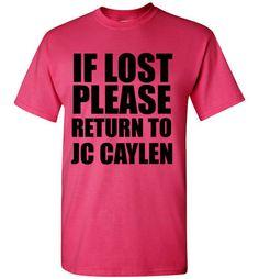 If Lost Please Return to Jc Caylen