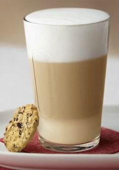 Macademiastars and Latte Macchiato   Add a little crunch to your coffee routine with these deliciously sweet and easy-to-make macadamia nut shortbread cookies. This sweet treat combination is great for enjoying after a long day.