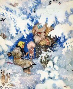 """""""Русские волшебные сказки"""" (илл.Н.Кочергина): shaltay0boltay"""