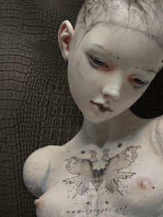 Art doll by Nora Ver
