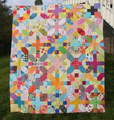 do. Good Stitches Imagine Circle March Quilt top | blogged h… | Jessica Kelly | Flickr