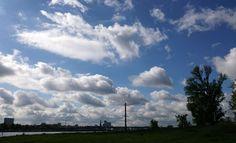 Himmel über der Stadt