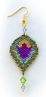 Silverhill Design - Bead Pattern for Sheherazade Earring