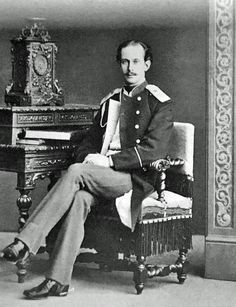 Nicholas, Duke of Leuchtenberg (1843 - 1891). He was the eldest son of Maximilian de Bearnaise, Duke of Leuchtenberg and Grand Duhchess Maria Nicholaievna. He contracted morganatic marrige and had to live in exile in Germany.