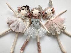 Bunny Lola Doll Cloth Doll Handmade 45cm