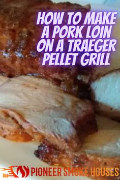 When it comes to a great cut of meat, pork loin takes flavors better than most. Also, it is hard to beat a Traeger pellet grill for mild smoke and ease of use. Learning how to make a pork loin on a Traeger pellet grill is a great way to add the smoke flavors to your favorite piece of pork.... Smoke Bbq, The Smoke, Great Cuts, Pork Loin, Grilling, Beef, Learning, How To Make, House