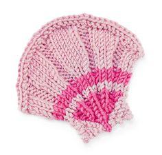 Stitchfinder : Knit Nature Motif: Scallop Shell : Free Pattern