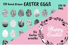 Easter Eggs Collection - Illustrations - 1