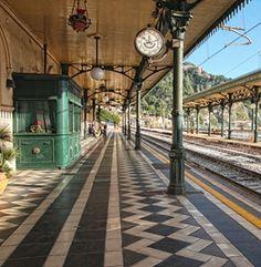 Station of Giardini Naxos, Messina, Sicily #taormina #sicilia #sicily