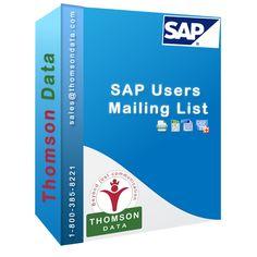 SAP Users List - SAP Decision Makers List - SAP Customers List