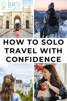 You need confidence when you're traveling solo! Confidence is a result of encouragement, knowledge, practice, and support, and this article is going to help you with these! #travel #travelblog #blog #blogger #travelblogger #destination #trip #solotravel #solofemaletravel #solotraveler #solofemaletraveler #femaletravel #femaletraveler #travelwithconfidence #confidencetravel #travelconfident Solo Travel Tips, Travel Info, Travel Deals, Travel Advice, Travel Guides, Virtual Travel, Travel Reviews, Best Places To Travel, Travel Alone