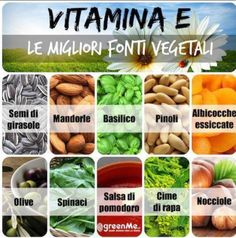 #Vitamina E: le migliori fonti #vegetali Wellness Fitness, Health And Wellness, Health Fitness, Vitamin A, Healthy Tips, Healthy Cooking, Moringa Benefits, Detox Diet Drinks, Vegetarian Protein