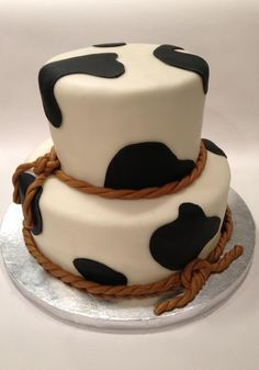 T'licious in Chanhassen, MN Cow cake!