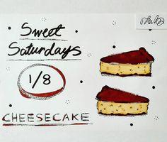 #sweet #saturday #cheesecake #cake #baking #weekend #art #to_lahtinen