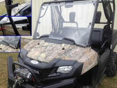 Extreme Metal Products releases the Hard Coated Full Windshield for the Honda Pioneer