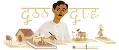 Munshi Premchand's 136th Birthday Jul 31, 2016