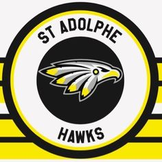 St. Adolphe Hawks, St. Adolphe, Manitoba -Hanover Tache Junior Hockey League- #StAdolpheHawks #StAdolphe #HTJHL (L20815)