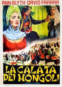 Italian poster for THE GOLDEN HORDE