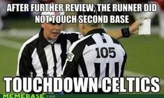 Replacement refs- they really didn't get a fair shot..talk about damned if you do, damned if you don't..