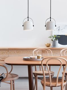 Finn 1 Light Pendant in Grey or white Concrete - $149