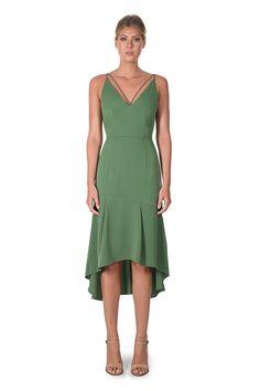 LOVINE DRESS- GREEN