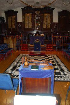 Lodge Burnside No.1361 @ Lodge Rutherglen Royal Arch No.116, Rutherglen, Scotland.