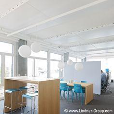 Mit unseren bewährten Heiz- und Kühltechnologien schaffen wir ein gesundes Raumklima in jedem Raum, welches das Wohlbefinden am Arbeitsplatz und somit auch die menschliche Leistungsfähigkeit deutlich verbessert.