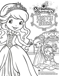 Strawberry Shortcake Printable Coloring Pages New Strawberry Shortcake Berry Tales Coloring Page Dance Coloring Pages, Pokemon Coloring Pages, Free Coloring Sheets, Cute Coloring Pages, Christmas Coloring Pages, Animal Coloring Pages, Printable Coloring Pages, Adult Coloring Pages, Coloring Pages For Kids