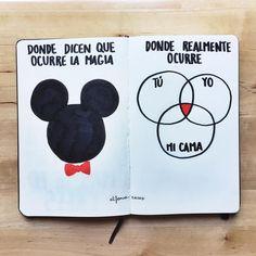 Disneylandia no es el lugar donde sucede la magia. Es el único sitio donde te alegras al ver una rata gigante, sí, pero la magia ocurre en otra parte. Ni Disney ni leches, amor es lo nuestro.